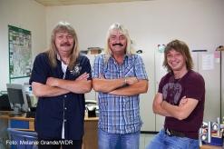 Die Wursts - Manfred, Werner und Michael Wurst Foto: Melanie Grande