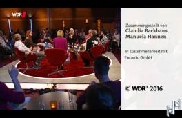 Schlussszene beim Kölner Treff am 14.10.2016